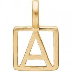 Enamel Letter gold (vælg bogstav)