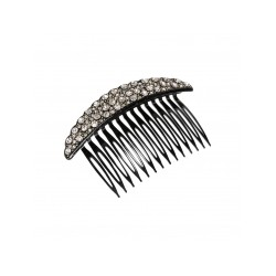 Pico Diamond Hair Comb Black