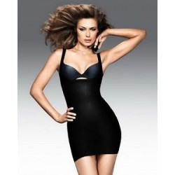 Maidenform 2541 Full Slip Dress Black