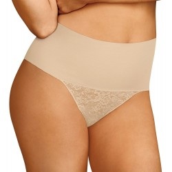 Maidenform DM0049 Shaping Thong Nude
