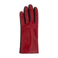 Decoy Leather Gloves Red/black