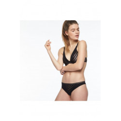 Passionata Graphic Bra Fill Black/nude