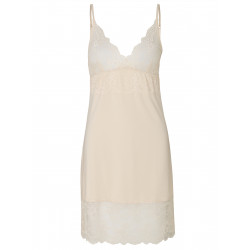 Rosemunde Strap Dress Wisper Beige