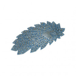 Pico Barette Hair Clip Denim