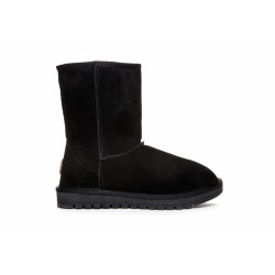 Duffy Boots 7125825  Warm Lining - Leather Upper Black