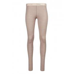 Skiny Leggings Active Wool Women Taupe Melange