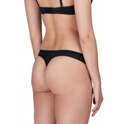 Skiny Thong 2 Pack Advantage Micro Black