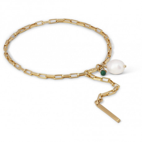 Enamel Bracelet Azra Gold