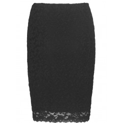 Rosemunde Skirt 4970-010  Black Lace