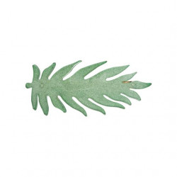Pico Leafy Hairpin Forrest Glitter