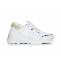 Duffy Sneakers 79-01923 White W. Gold
