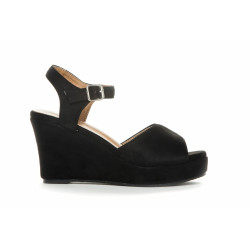 Duffy Sandal 97-19027 Black