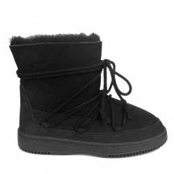 New Zealand Boots Lace Winter Black