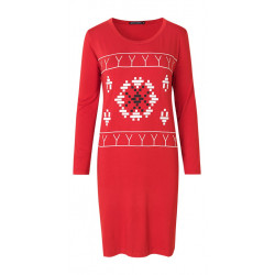 Isaksen Design Marie Tattoo/avittat Tunic Women Red