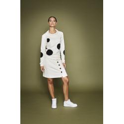 Isaksen Design Star Skirt White