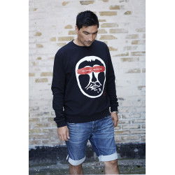 Isaksen Design Paulo Sweatshirt Black
