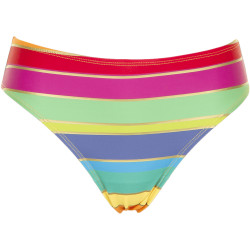 Missya Monte Carlo Tai pink/yellow/gold Stripes