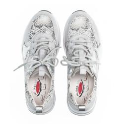 Gabor Rolling Soft Sneakers 46.916.40 Grå/sølv/snake