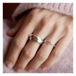 Enamel Ring Trinity Gold
