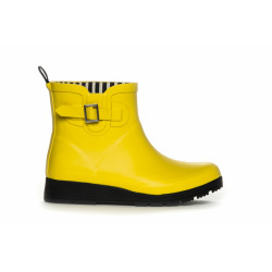 Duffy Rubberboots Short 92-16163 Yellow