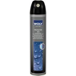 Woly Protector 3X3 300 ml Imprægnerer og beskytter materialet mod vand og smuds.