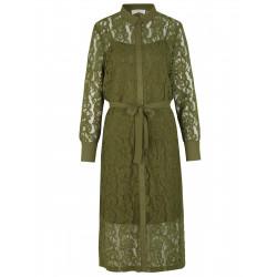 Rosemunde Dress  1456-622 Leaf Green