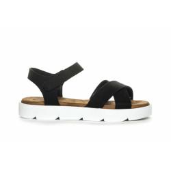 Duffy Sandal 75-03031 Black/White