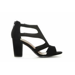 Duffy Shoe High Heel 97-10105 Black
