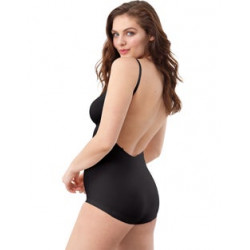 Maidenform Low Back  Bodysuit DMS84 Black
