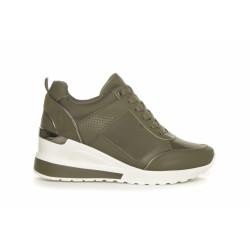 Duffy Khaki Sneakers 86-54302 Khaki