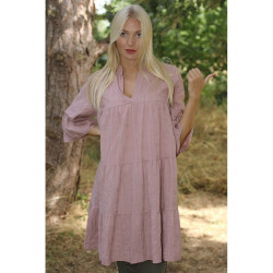 Copenhagen Luxe 1163 Dusty Rose Dress