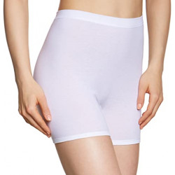 HUBER Maxi Briefs Short Leg 100% Cotton White