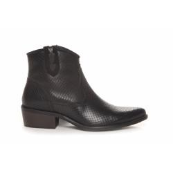 Duffy Cowboy Boots 51-00124 Black