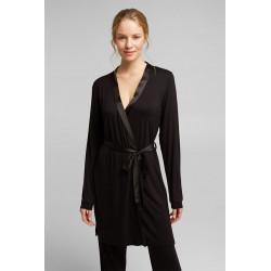ESPRIT Nightwear Kimono Black