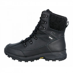 Brutting Boots Ice Mount w. WIBRAM Soles Black