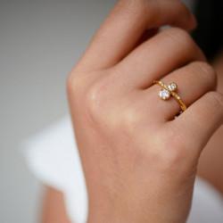 Enamel Ring kamma Gold