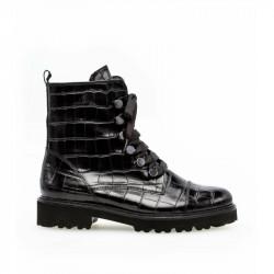 Gabor Short Boots 51.801.37 Kroko Black