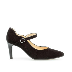 Gabor Pumps 41.381.17 Sort Ruskind