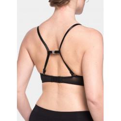 Magic Body Fashion - Magic Straps - Size 2 - White/Black . Size 2 18cm Long 1,5cm