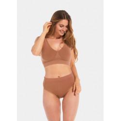 Magic Body Fashion Comfort Bra Wide Straps Bamboo Mocha