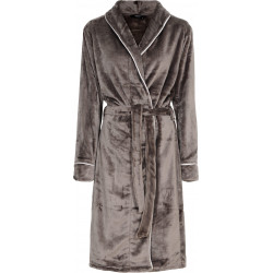 Decoy Long Robe w. Piping 88098-3308 Grey