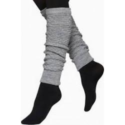 Vogue Legwarmer Pearl Wool Grey Melange