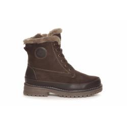 Duffu Boots Short 71-02131 Dark Brown