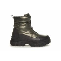Duffy Short Boots 75-19023 Khaki