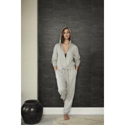 Missya Cozy Jumpsuit Light Grey Melange
