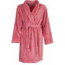 Missya Cornflocker Fleece Robe Short Rhododendron