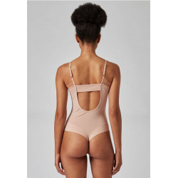 SKINY Thong Body Cotton Ballet Mahogany Rose