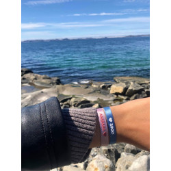 Sorbet Island Bracelet Asasara Satin Collection Sorbet Blush