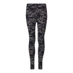 Isaksen Design Girls Verona Leggings Black