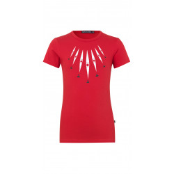 Isaksen Design Girls Qajaq Top Red